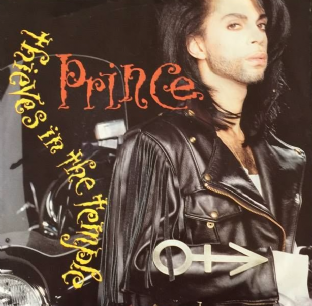 "Prince ‎- Thieves In The Temple (7"") (EX-/VG-)"